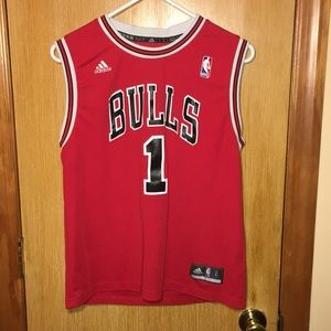 Chicago Bulls Rose Jersey